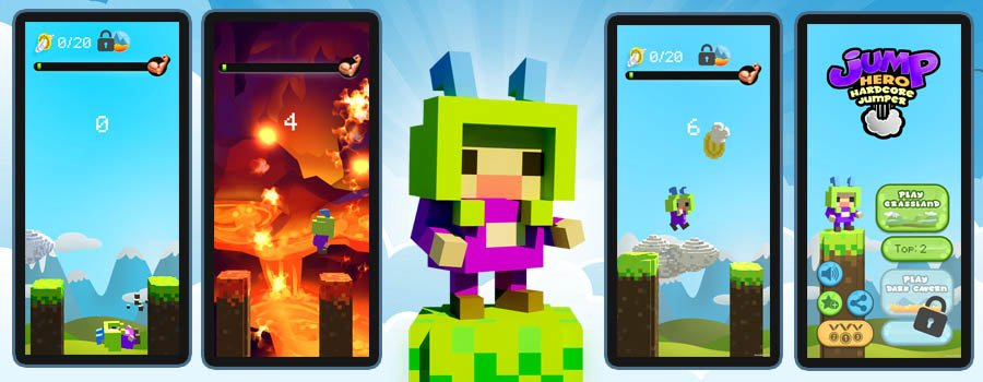 Jump Hero: Hardcore Jumper released for iOS and Android